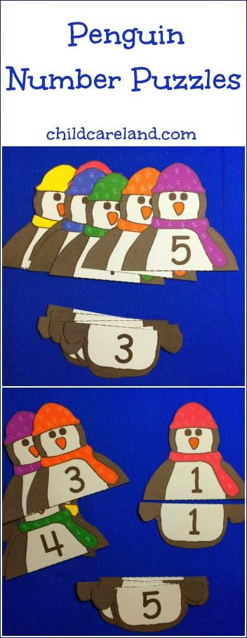 This week's free printable is Penguin Number Puzzles which is a great activity for number recognition and review. Available until Sunday January 26th ... after that they will be available in the member's section of the site.