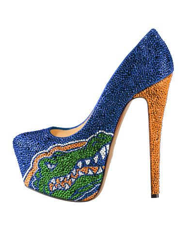 2013-14 Limited Edition University of Florida Gators Crystal Pumps