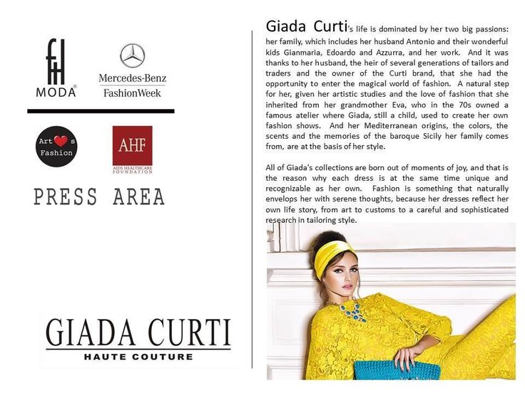 GIADA CURTI - MBFW - FTLMODA - NEW YORK