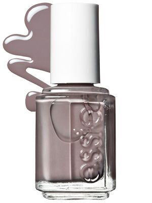 Essie in Chinchilly -my favorite nail color these days. It goes with everything in my wardrobe.