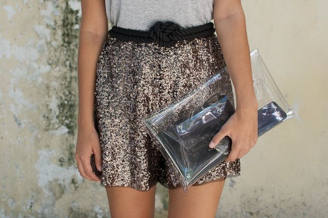diy sequin shortsss