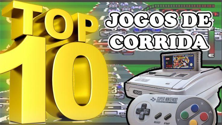 TOP 10 - Melhores Jogos de Corrida do Super Nintendo