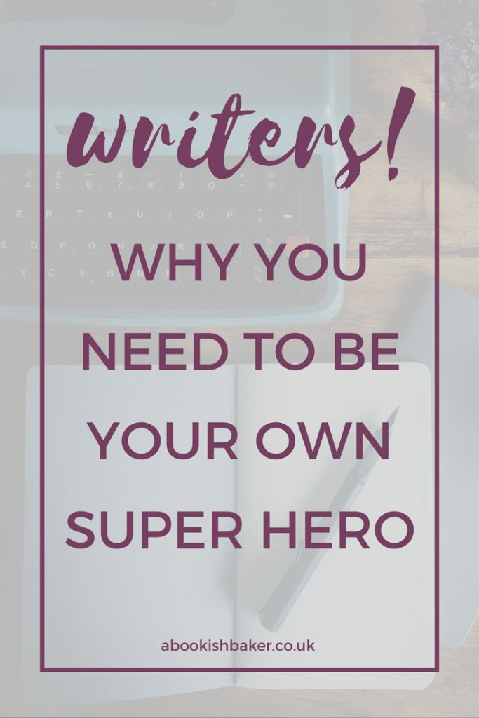 Don't just sit back and wait to be discovered. Take control. Create an author platform. Market yourself. And be your own writing super hero. Writers can't just wait to be discovered with all the noise online. You have to go out there and find your audience and create your own author platform.