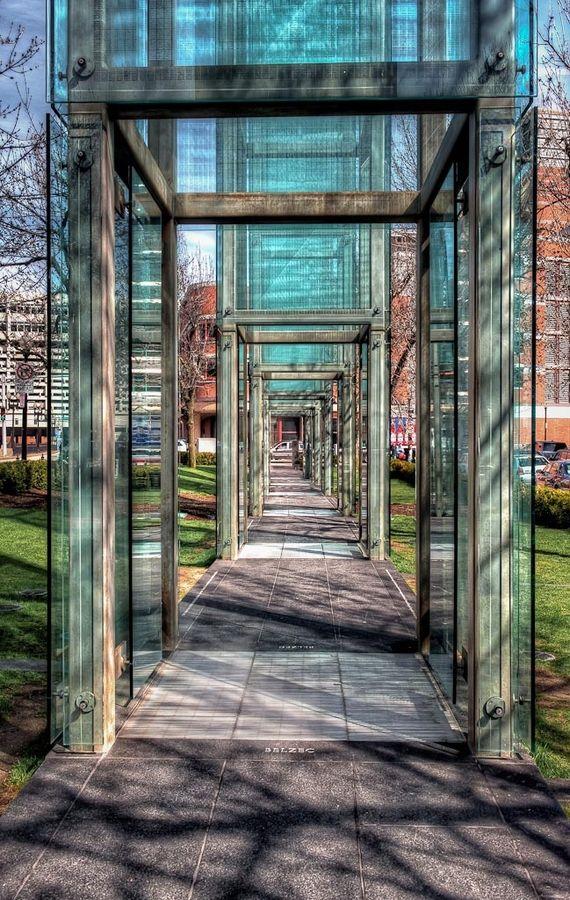 New England Holocaust Memorial, Boston, Massachusetts, USA