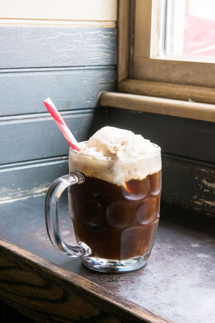 Our Favorite Spring Cocktails - Rum Java Root Beer Float  - from InStyle.com