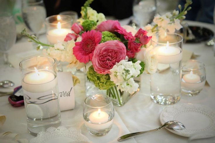 pinterest spring floral centerpiece | just glow. With the help of my assistant, Amber, we created a setting ...