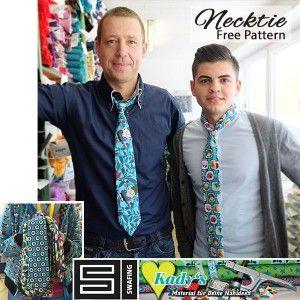 Freebook:Krawatten nähen Näht Euch Eure ganz individuelle Krawatte aus Swafing Stoffen!DasEbook enthält das kostenlose Schnittmuster und die Anleitung für eine schicke, selbstgenähte Krawatte. Außerdem:Tipps zur Abwandlung, wenn man breitere Krawatten mag oder eine Krawatte für Kinder nähen möchte!Mit dem kostenlosen Schnittmuster ist auch den Herren geholfen, die Krawatten in Überlänge brauchen oder auf ausgefallene Krawatten …