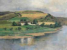 Zdenka Braunerová - ohbí řeky (Tříkrálka)