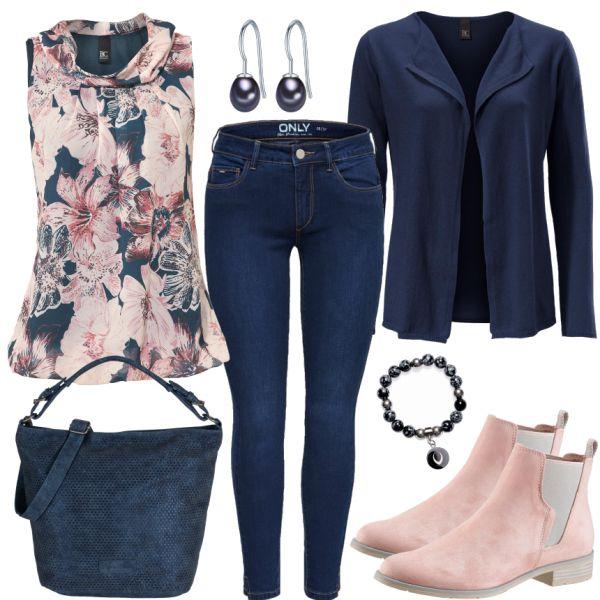 Roupas de lazer: PinkBlueten em FrauenOutfits.de   – Moda