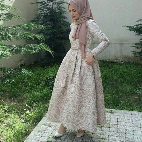 Evening Prom Dresses With Hijab