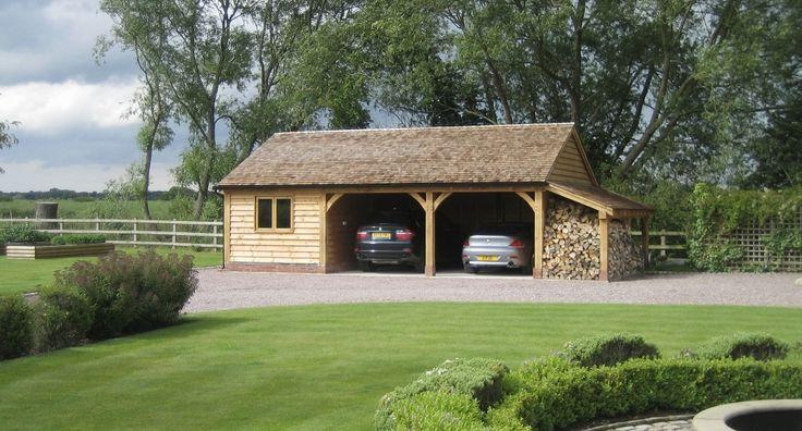 17 best images about oak houses on pinterest bespoke for Cedar ridge storage