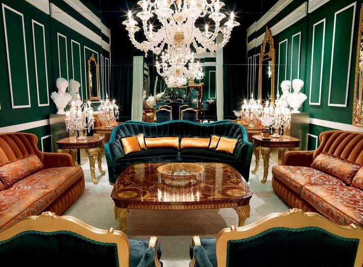 Three-seater sofa Smeraldo, Zanaboni - Luxury furniture