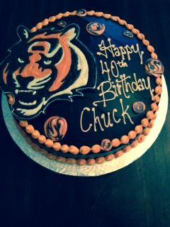 Bengal's Birthday Cake