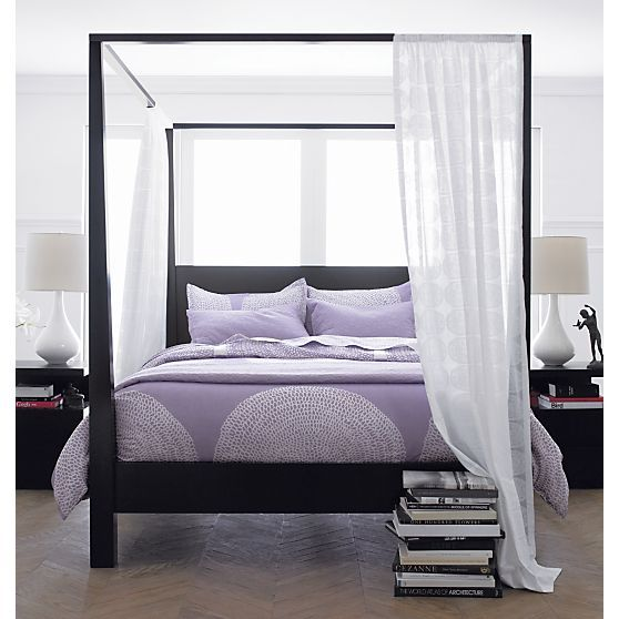 17 Best Ideas About Black Canopy Beds On Pinterest