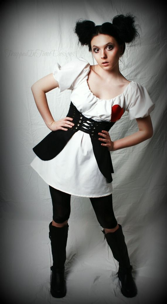 black voodoo doll costume - photo #15
