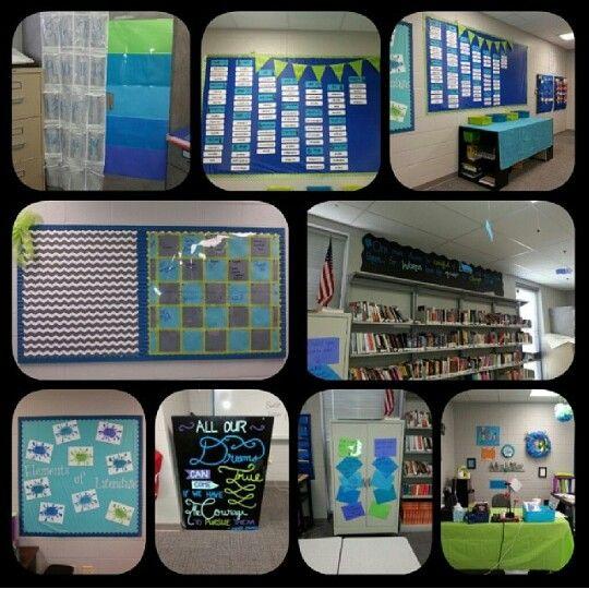 My high school English classroom. My students love it!