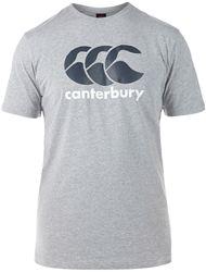 Canterbury CCC Logo T-Shirt MARL/CARBON