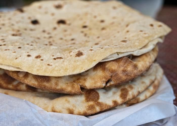 Пошаговый рецепт с фото Чапати (индийский хлеб)