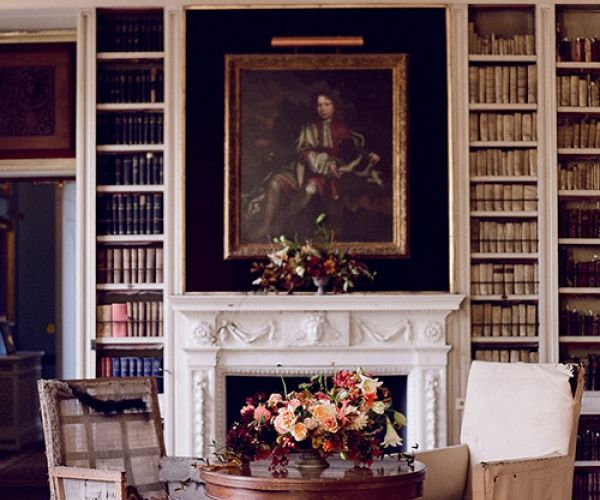 The Library At St Giles House Wedding Venue In Dorset
