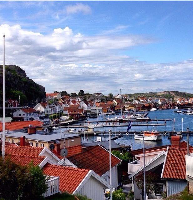 Fjällbacka - one of many charming villages along the coast of Bohuslän