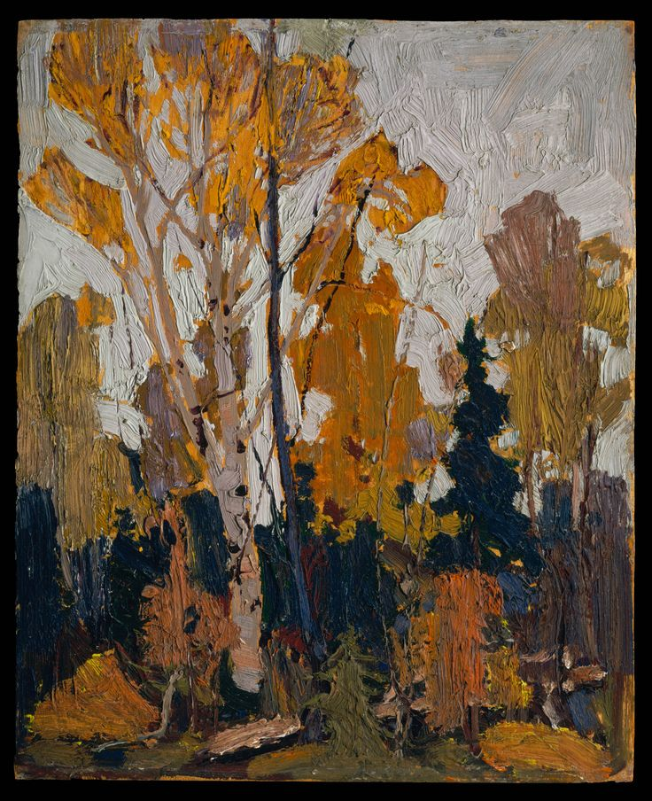 Tom Thomson Catalogue Raisonné | The Clearing, Fall 1916? (1916.147) | Catalogue entry