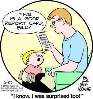 Family Circus Cartoon for May/23/2014