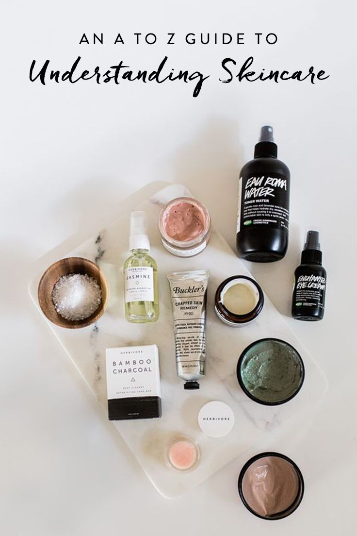 An alphabetical guide to some of the most commonly used skin-care terms and ingredients.
