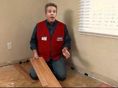 Preparación de un subsuelo de madera contrachapada para pisos de madera dura o laminados - YouTube