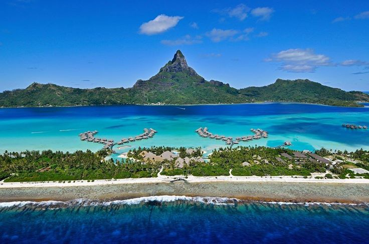 Wish you were here ? INTERCONTINENTAL THALASSO RESORT (Bora Bora, Frans-Polynesië)# Travelworld