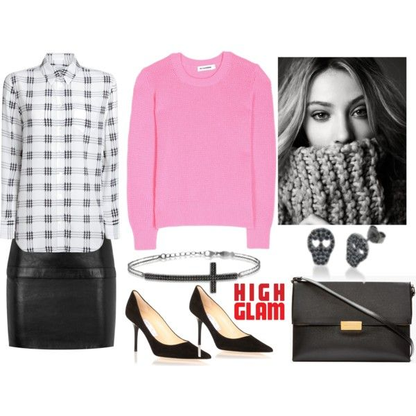 """""""kurshuni, pink and punk"""" by susie1971 on Polyvore"""