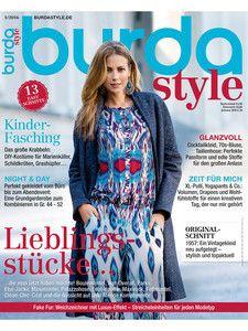 burda style: burda style Hefte - 2016 - burda style 01/2016