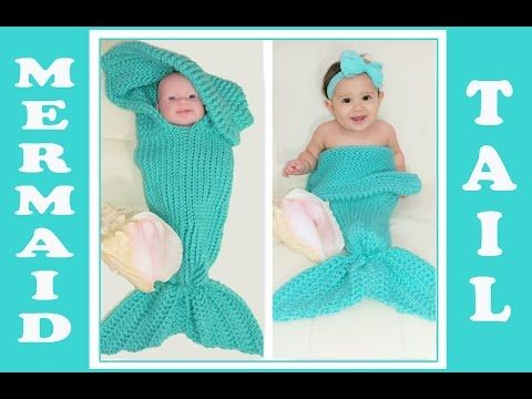 Loom Knitting Stitch: Mermaid Scales! - YouTube