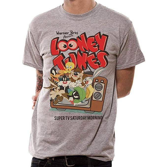Looney Tunes Bugs Bunny Warner Brothers Official Tee T-Shirt Mens Unisex