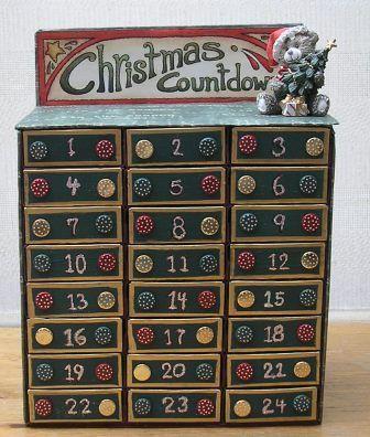 tutorial Class; Advent Calendar from matchboxes!