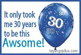 30th #Birthday Ideas - http://partyideasclub.com/birthday