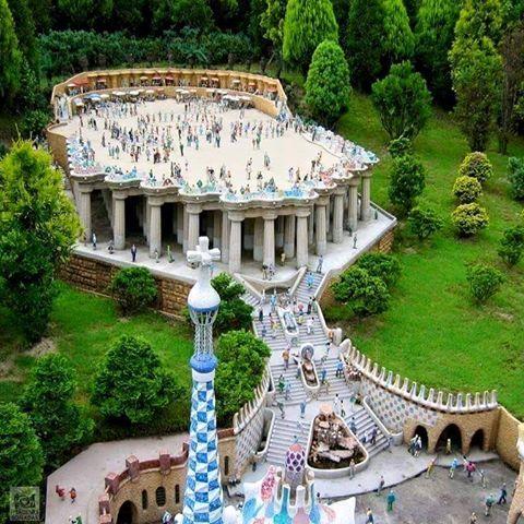Parque Güel (Barcelona)