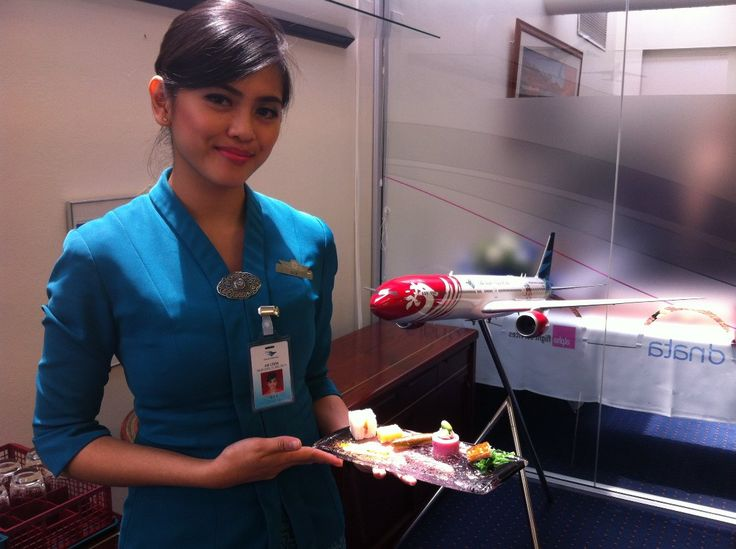 GARUDA INDONESIA FLIES HIGH WITH ALPHA CATERING SERVICES
