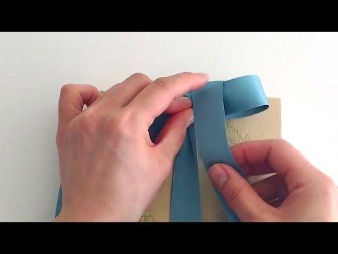 「かわいいリボンの結び方」 - YouTube