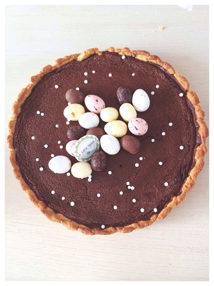 Easter chocolate pie