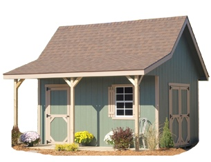 A Frame Storage Building By Alpine Structures In Amish Country, Ohio.