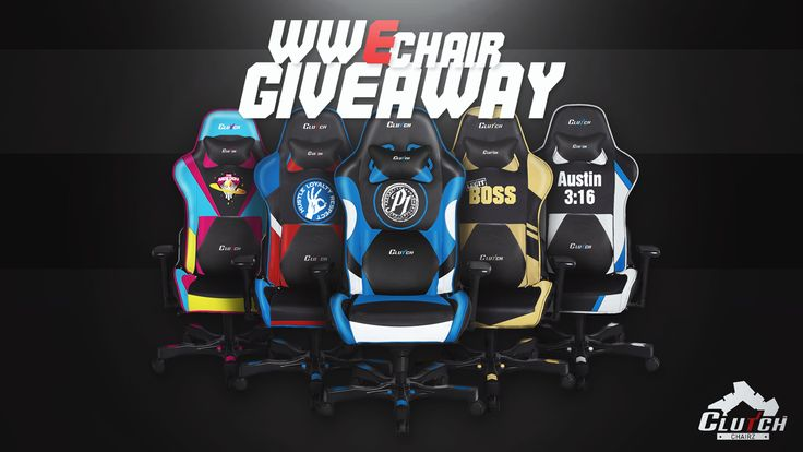 Clutch Chairz - Win a WWE Gaming Chair (2 Winners) - http://sweepstakesden.com/clutch-chairz-win-a-wwe-gaming-chair-2-winners/