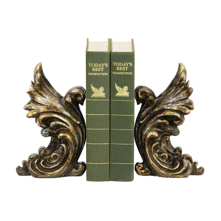 Pair of Gothic Gargoyle Bookends 93-5527