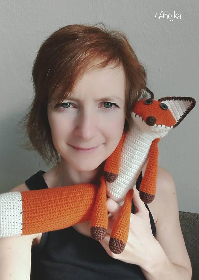crochet fox from movie Little Price