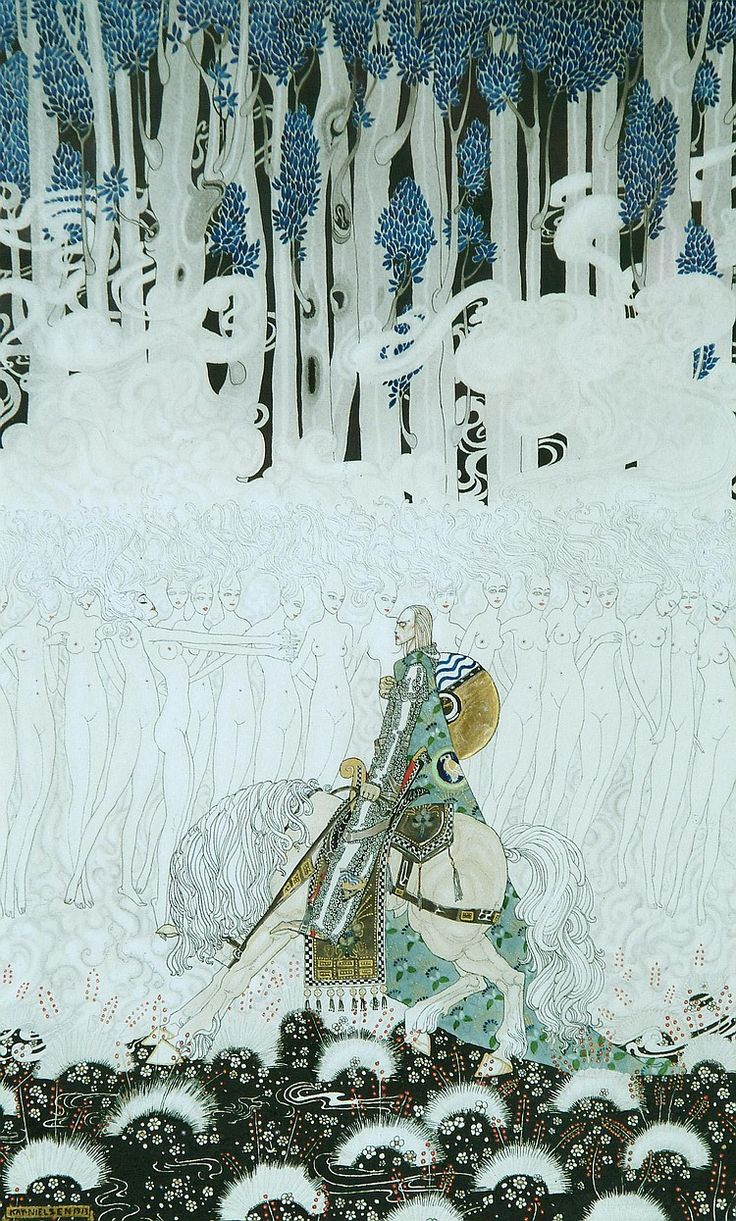 "I think this is also from ""East of the Sun West of the Moon"" by Kay Nielsen"