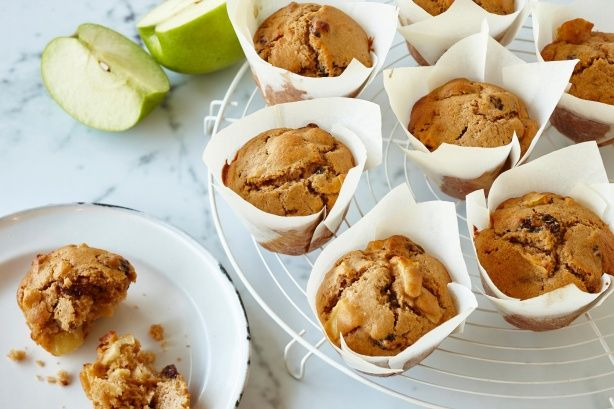 Treat the family to these tasty apple muffins - the kids, in particular, will love them!