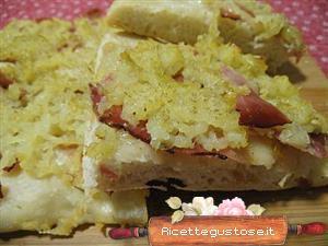 Pizza speck e patate