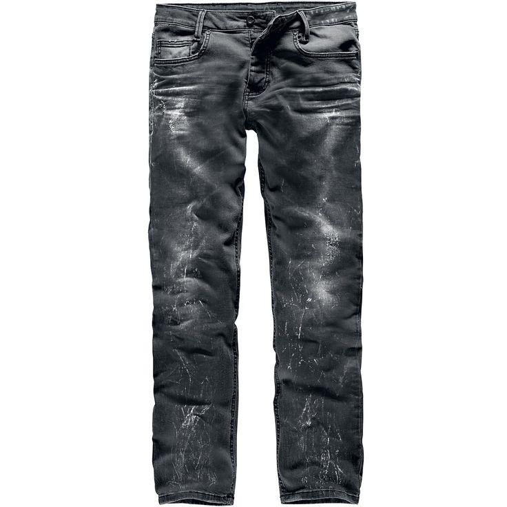"Black Premium by EMP Jeans ""Pete Crinkled"" nero/nero • EMP"