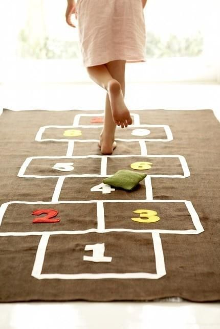 Hop Scotch- something for the kids... and big kids :) ...Now go forth and share that BOW & DIAMOND style ppl! Lol. ;-) xx
