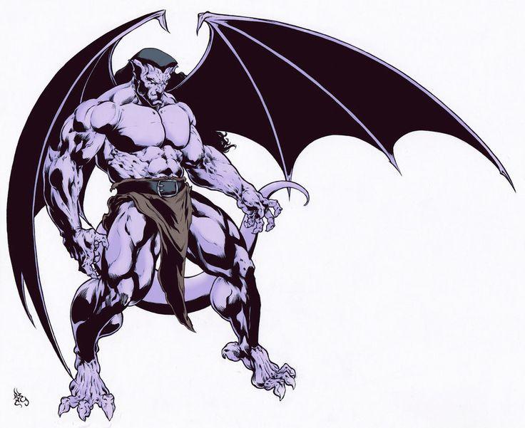 Gargoyles Goliath Color by garnabiuth.deviantart.com on @deviantART