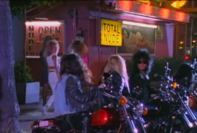 "We checked in on every strip club in Mötley Crüe's ""Girls, Girls, Girls"""